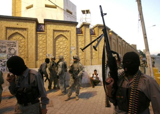 Irak, destinatia ilegala a armamentului romanesc