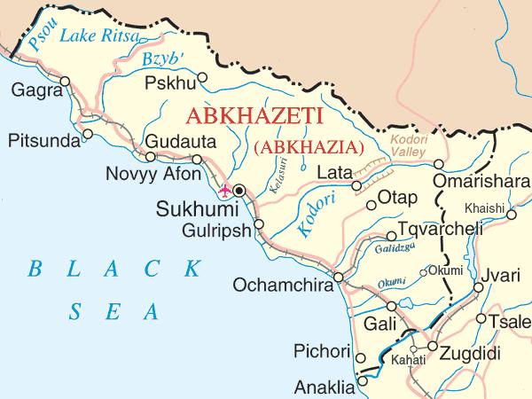 Flota militara rusa isi consolideaza prezenta in regiunea abhaza