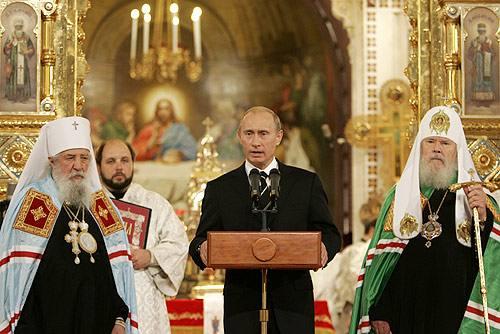"""Vladimir Putin, noul """"tar"""" ortodox"""