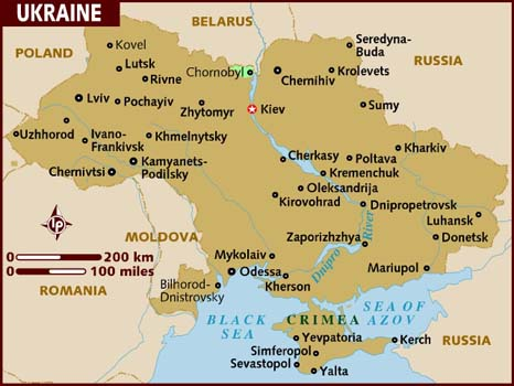 Ucraina, arsenalul terorismului mondial