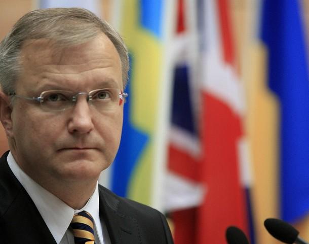 Comisarul pentru Extindere al UE, Olli Rehn, sprijina integrarea Serbiei