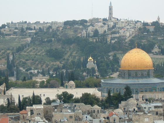 Ierusalim, oras sfant pentru crestini, musulmani si evrei