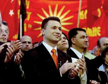 Premierul Nikola Gruevski conduce Macedonia spre UE