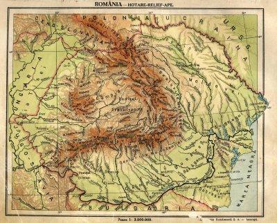 ROMANIA basarabia harta