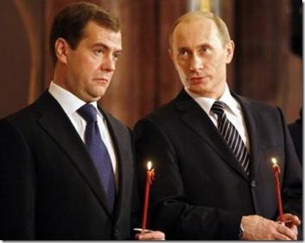 Tandemul Putin-Medvedev vor un nou Tratat de Securitate Europeana