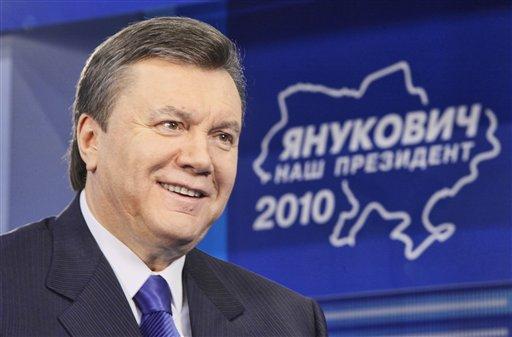 Viktor Yanokovici, castigatorul primului tur al alegerilor prezidentiale
