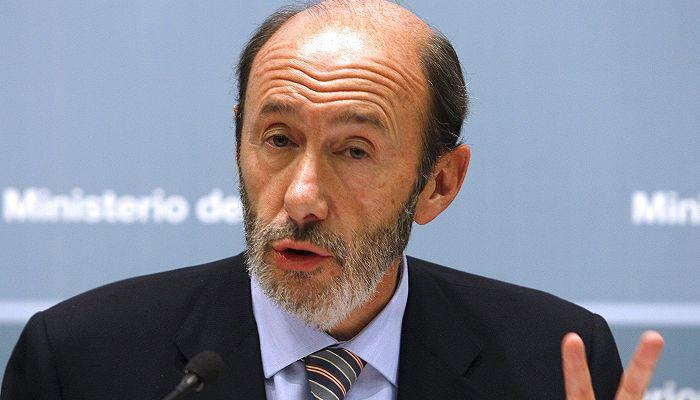 Ministrul spaniol de Interne, Alfredo Perez Rubalcaba, avertizeaza UE asupra pericolului ETA