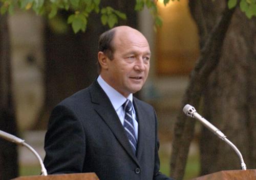 Presedintele roman Basescu debarca la Chisinau
