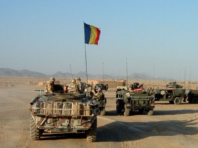 Soldati romani, tinte pentru talibani