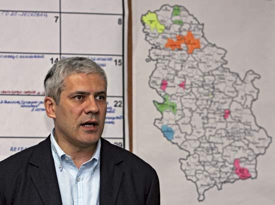 Presedintele sarb Boris Tadici, interzis in Kosovo