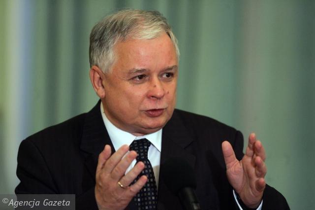 Presedintele polonez Lech Kaczynski, ingrijorat de presiunile Gazprom