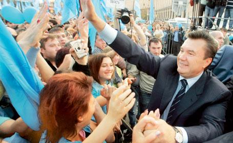 Viktor Ianukovici, noul presedinte al Ucrainei