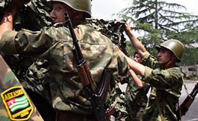 Armata abhaza, pregatita pentru apararea Rusiei