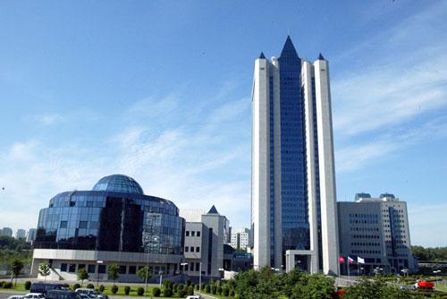 Sediul central al monopolului rusesc Gazprom