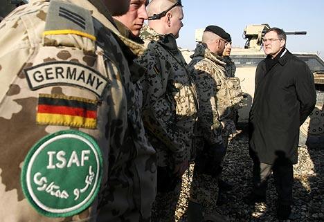 Mii de soldati germani participa la misiunea ISAF din Afghanistan