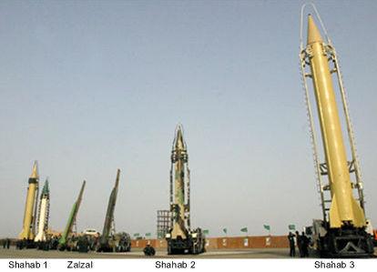 Rachetele iraniene, gata de actiune