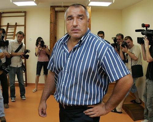 Premierul bulgar Boyko Borisov, campionul balcanic al Nabucco