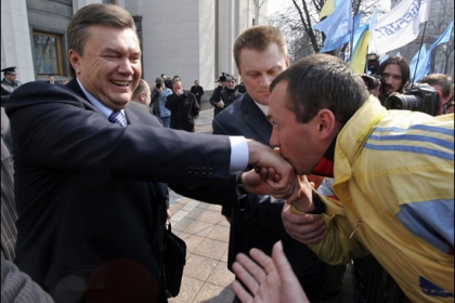 Viktor Ianukovici, primul presedinte tatar al Ucrainei