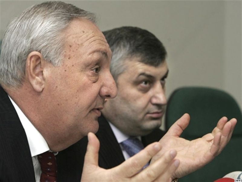 Liderul abhaz, Serghei Bagaps, respinge acuzatiile NATO