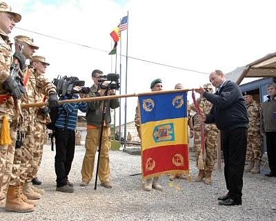 Basescu in afganistan