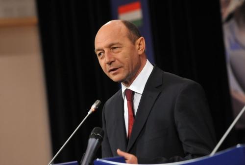 Pressedintele roman Traian Basescu sustine proiectul Nabucco