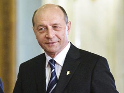Presedintele roman Traian Basescu a vizitat statul central-asiatic