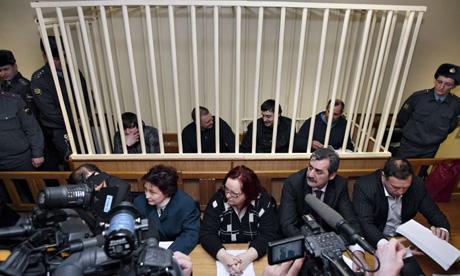Justitia rusa a condamnat spionii georgieni
