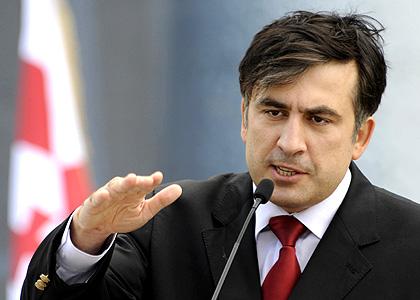 Presesdinte georgian Saakasvili, ucis mediatic