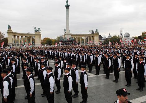 Garda Maghiara, pregatita de razboi impotriva romanilor