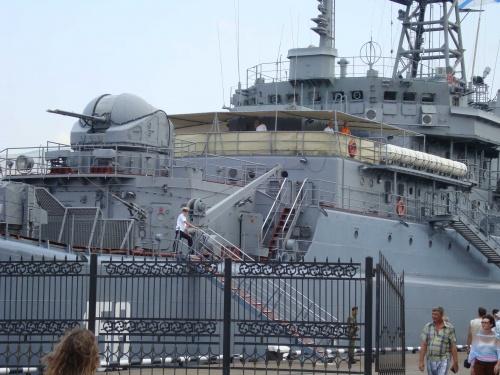 Nava de desant Caesar Kunikov, arma diplomatica a Kremlinului in bazinul Marii Negre