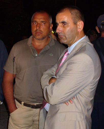 Premierul Boyko Borisov si prezidentiabilul Tvetan Tvetanov, doul teribil al politici bulgare