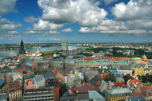Riga, capitala baltica a NATO