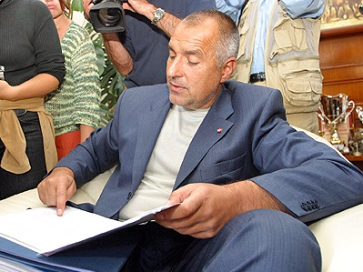Premierul Boyko Borisov vizeaza la scutul antiracheta