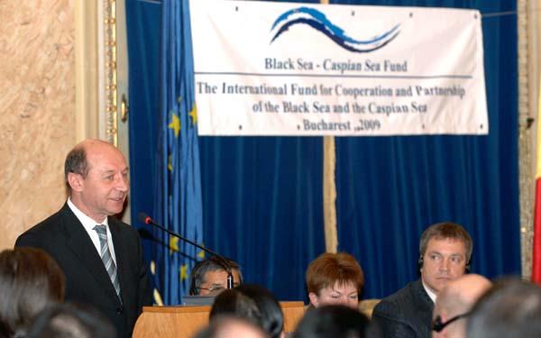 Presedintele roman Traian Basescu a participat la lansarea oficiala a Fundatiei