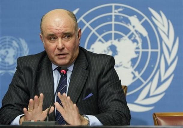 Switzerland UN Talks Georgia Russia