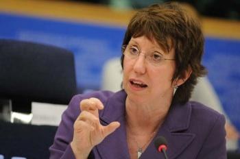 Catherine Ashton forteaza mana Israelului in problema palestiniana