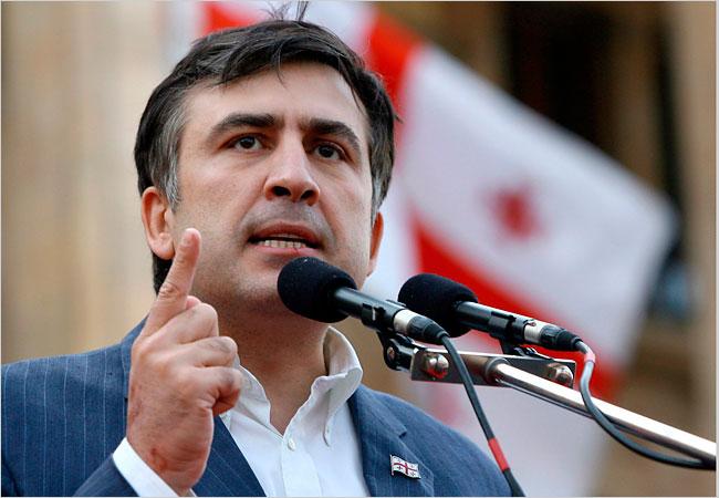 Presedintele georgian avertizeaza Federatia Rusa