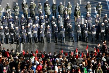 Grecia, amenintata de noi proteste violente