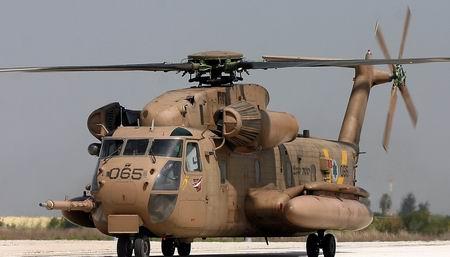Elicopterele militare israeliene exerseaza in spatiul aerian romanesc