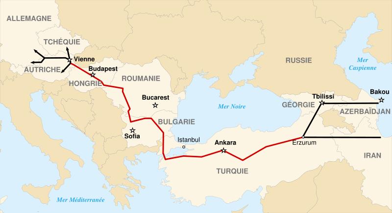 Proiectul strategic Nabucco, relansat de Kazahstan