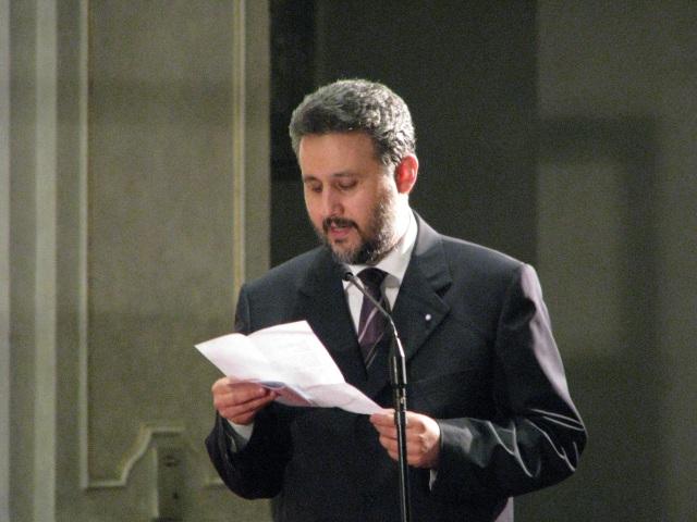 Ambasadorul roman in Republica Moldova, Marius Lazurca, sprijina normalizarea relatiilor moldo-romane