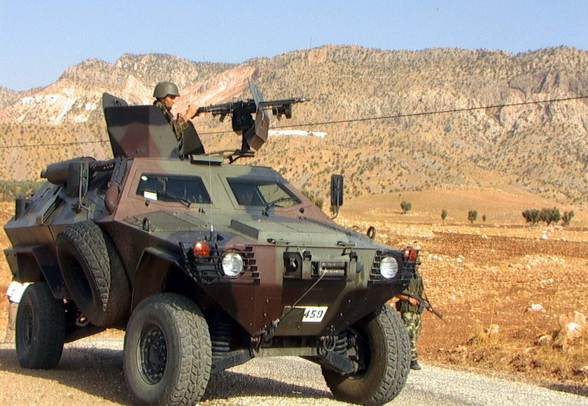 Armata turca intensifica operatiunile antiteroriste PKK