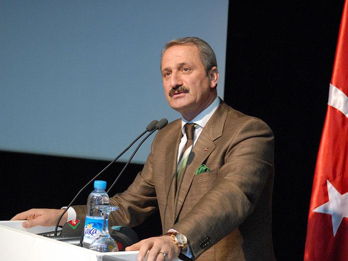 Ministrul turc, Caglayan Zafer, sprijina independenta economica a teritoriilor palestiniene