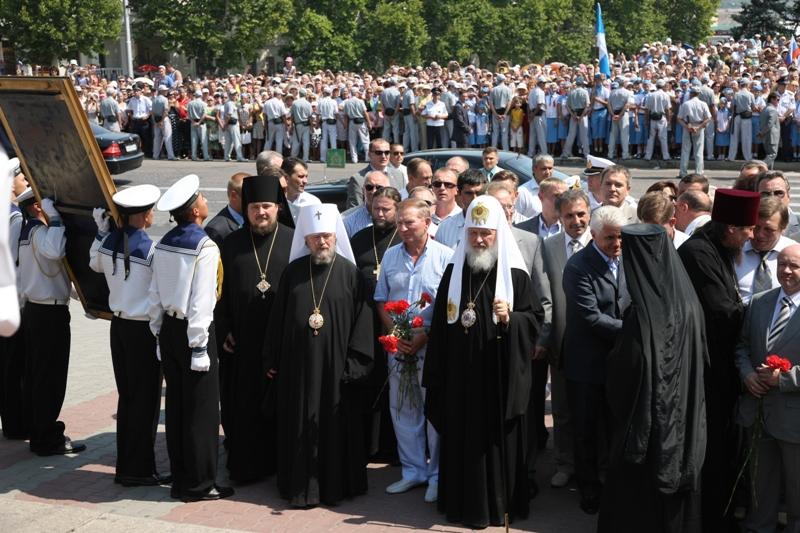 Patriarhul rus Kirill debarca in Ucraina