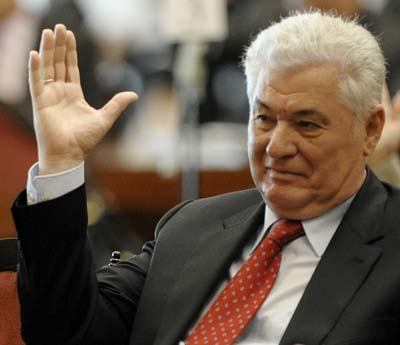 Liderul comunist, Vladimir Voronin, se opune referendumului constitutional