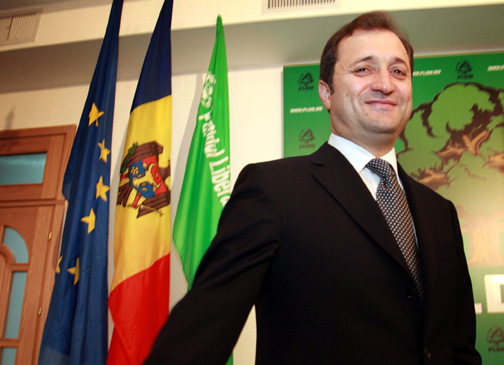 Premierul Vladimir Filat se lanseaza in cursa prezidentiala din Republica Moldova