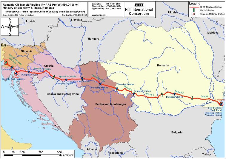 PEOP, obiectiv strategic romano-sarb
