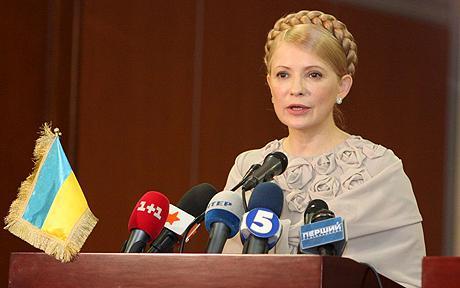 Printesa gazelor, Iulia Timosenko, ridica securea razboiului