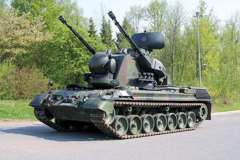 Romania isi va moderniza sistemele GEPARD, sisteme de armament de fabricatie germana