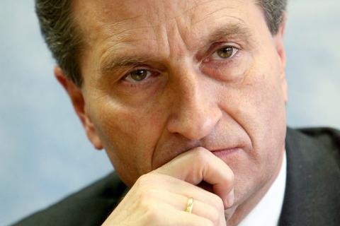 Comisarul european Gunther Oettinger indeamna la unitate energetica